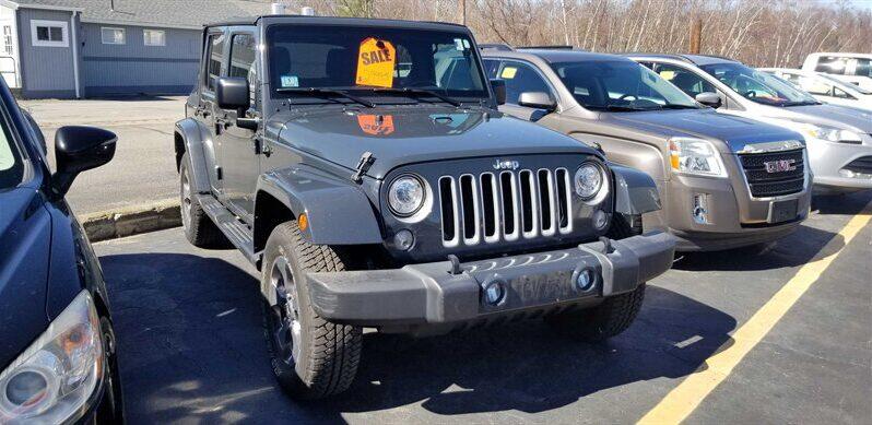 2017 Jeep Wrangler Unlimited Sahara full